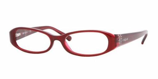 Óculos VO2555 Vogue - Armação de Grau Vinho