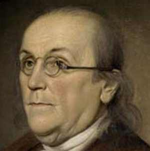 primeiro bifocal | Benjamin Franklin