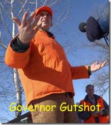 governor gutshot with legend