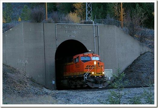 flathead tunnel