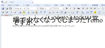 Sleipnir(IE7)においても、文字の大きさの変更が出来ません