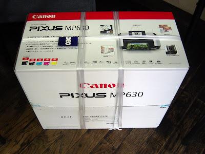 新しいプリンターCanon インクジェット複合機 MP630