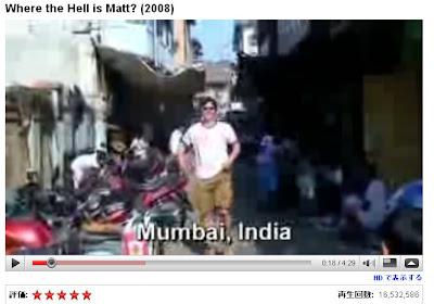 HD動画の場合には「 HD で表示する」というリンクが動画の下に表示されます。