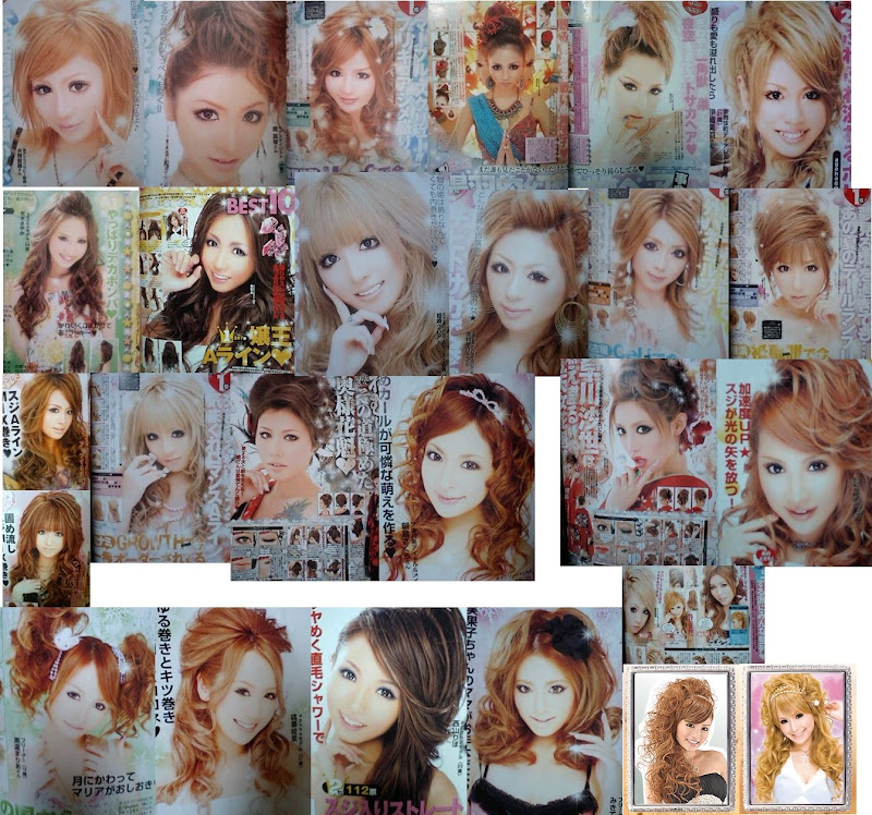 アゲ嬢ことギャルの盛りヘアの種類やネーミングがすごい増えてる!