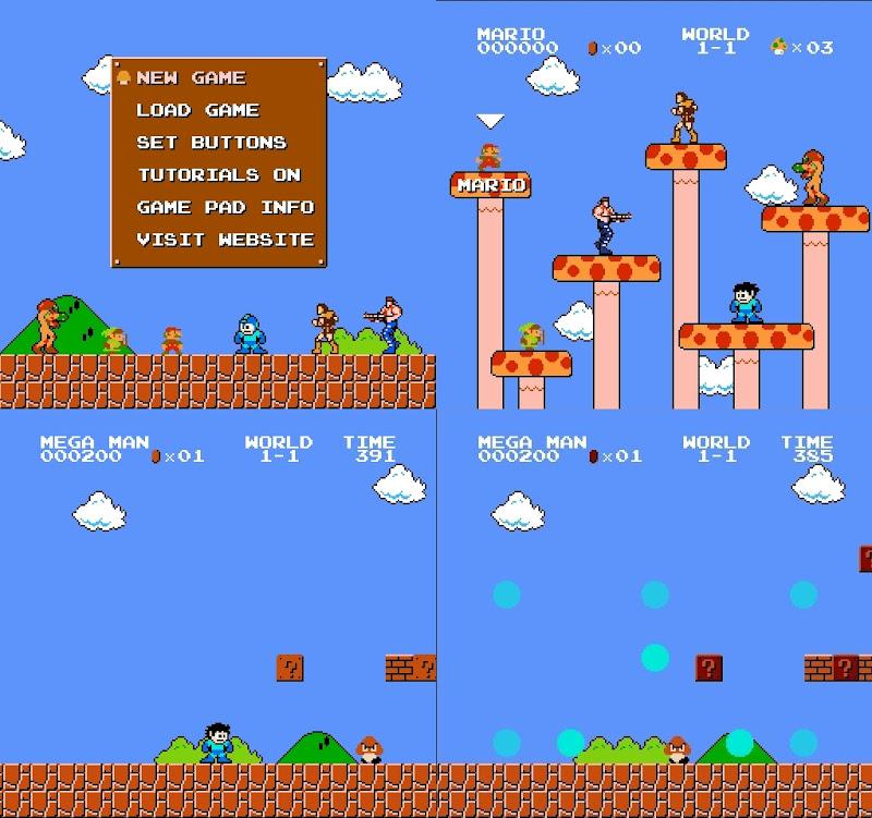 【ゲーム】「Super Mario Crossover」いろんなキャラでスーパーマリオ