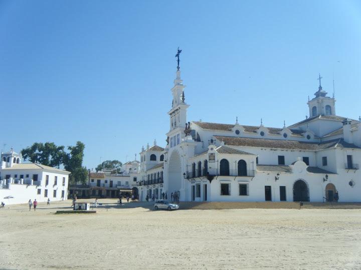 Ermita de la Blanca Paloma en Huelva (El Rocío)
