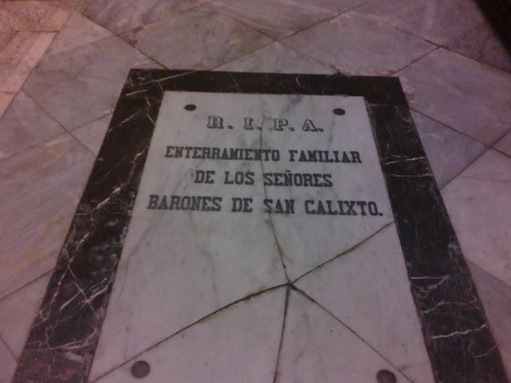 Enterramientos cristianos en la Mezquita-Catedral de Córdoba