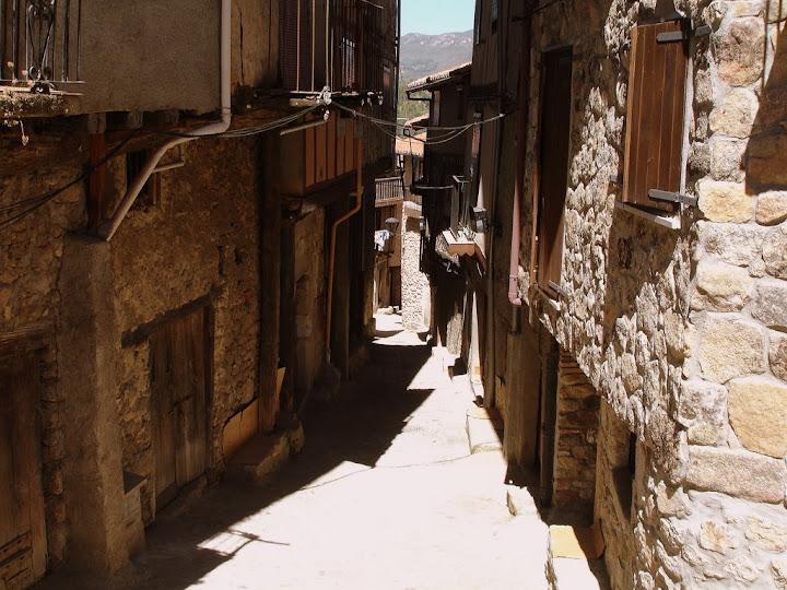 Calles Angosta y empinadas de Miranda del Castañar