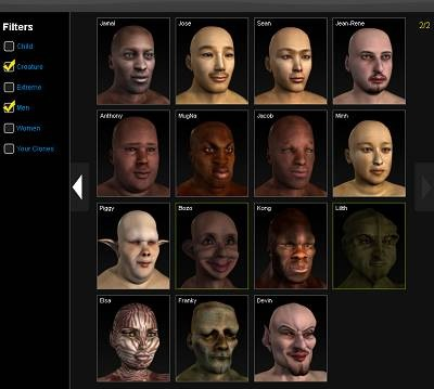 evolver 3d universal avatar crossworld avatars 2