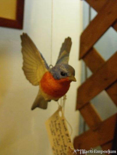 collectible ceramic bird