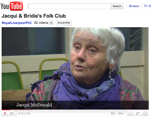 Jacqui & Bridie's Folk Club 50th Year and Final Night