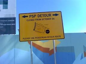 Photo of detour