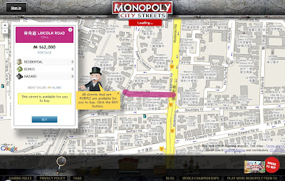 Monopoly City Streets - Buying a Street