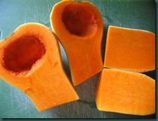 butternut squash cut