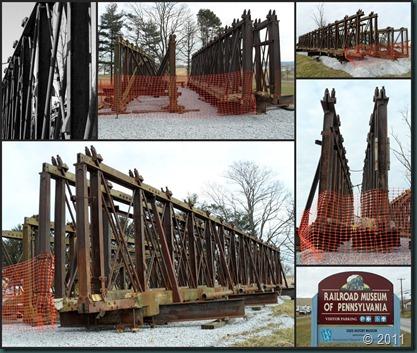 RR trestle collage