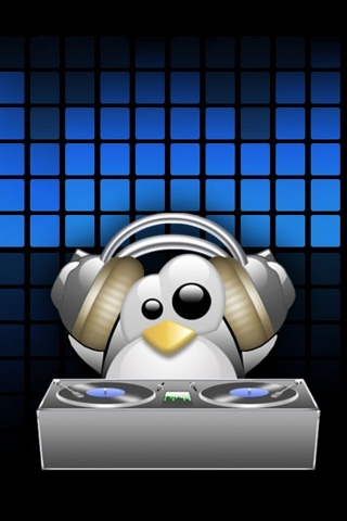 iPhone Wallpaper Penguin Love Music Picture Graphic