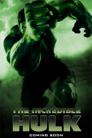 The Incredible Hulk Movie Poster Wallpaper For iPhone