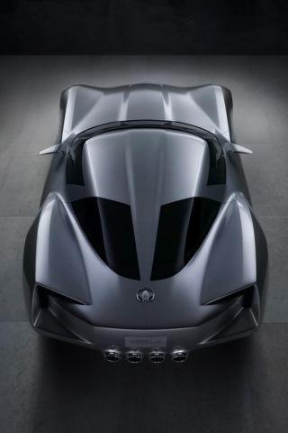 Chevrolet Corvette Stingray Sideswipe Concept Car iPhone Wallpaper