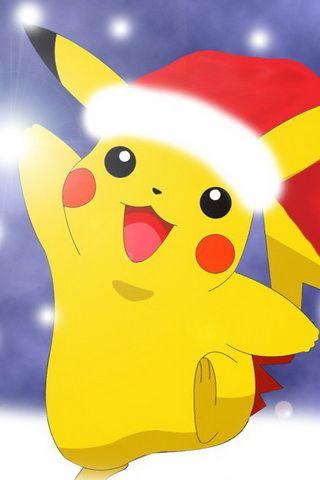 Pokemon Christmas Wallpaper For iPhone