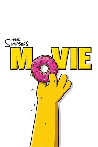 The Simpsons Movie Cartoon Picture Wallpaper For iPhone