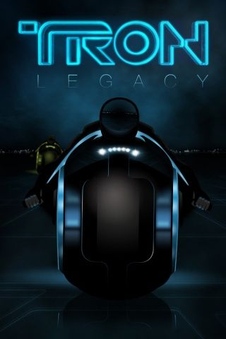 Tron Legacy 2010 Movie Poster iPhone Wallpaper