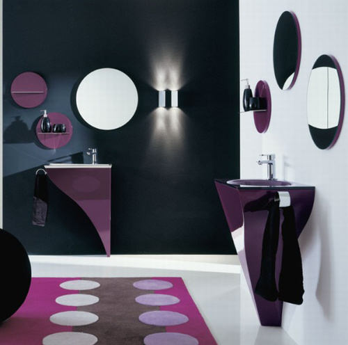 Minimalist Bathroom Furniture Set from Novello