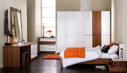 Luxury Gloss Bedroom from Neville Johnson