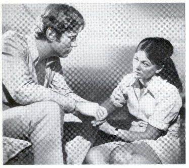 Gary Bond and Sylvia Kay in Wake in Fright / Outback