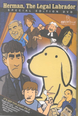 Herman, the Legal Labrador (DVD)