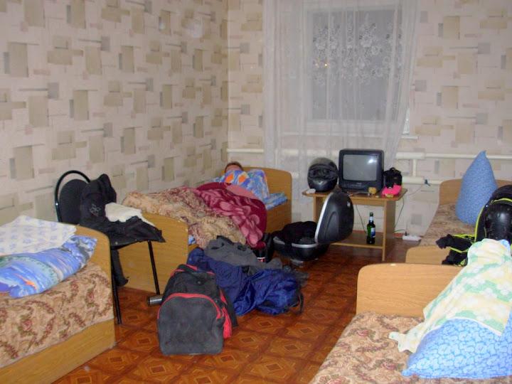 Вот так живут байкеры в мотелях
