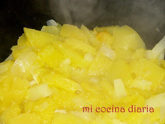 Crema de calabaza (Суп-крем из тыквы)