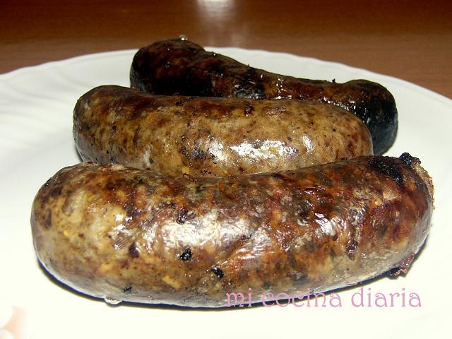 Butifarras de casquerias con arroz (Ливерные колбаски с рисом)