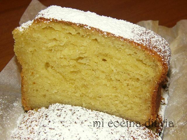 Cake de tvorog (Творожный кекс)