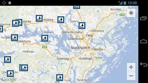 Rest Areas in Sweden - screenshot