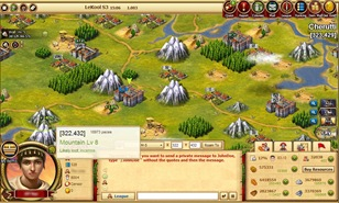 In Caesary you can capture a Wilderness, which would give you a boost to one of the basic resources production.