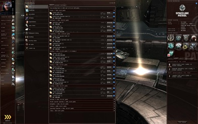 Eve Online skill tree - at least, a small part of it. Yes, this part it IS small.