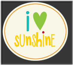 {I Love Sunshine} Label