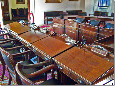 City Hall Desks