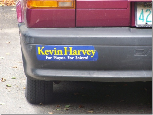 Kevin Harvey bumper
