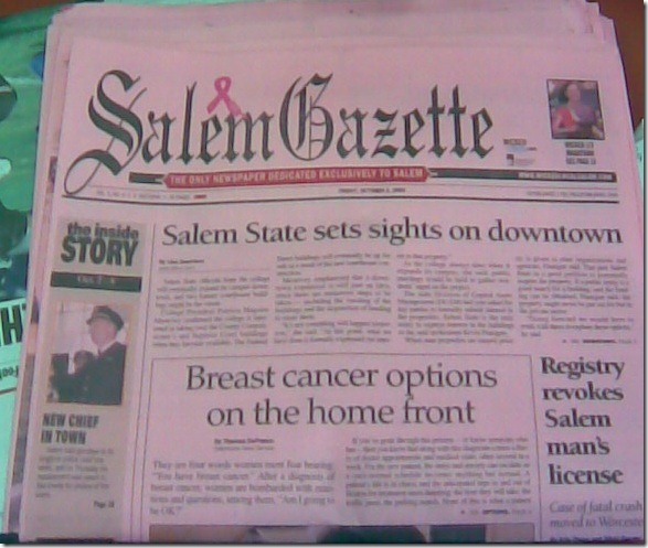 Pink Salem Gazette