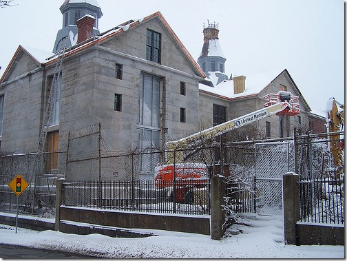 Salem Jail, January 2010