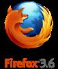 Firefox 3.6 logo