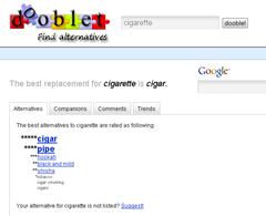 Alternative for Cigarette