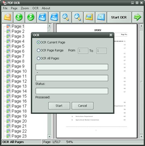 pdf escape how to ocr