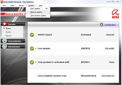 How to Update Avira Antiv