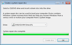system repair disk for win7