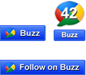 How to add Official Google Buzz Buttons to your Blog