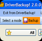 Backup,Restore Your Drivers With DriverBackup