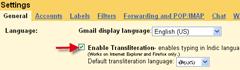 enable_transliteration_Gmail