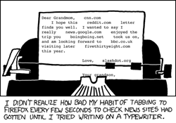 addicted to tabbed browsing in Firefox